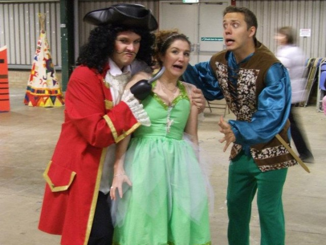 Peter Pan and Captain Hook Party